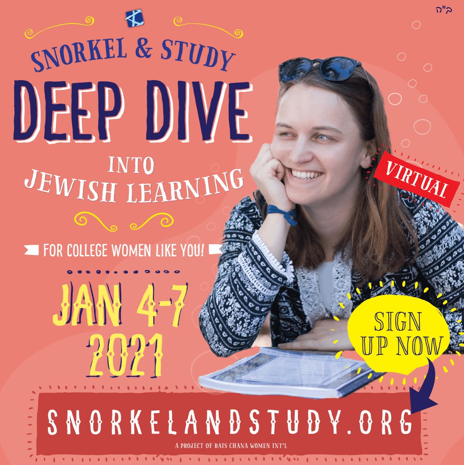 Snorkel & Study Deep Dive 2021
