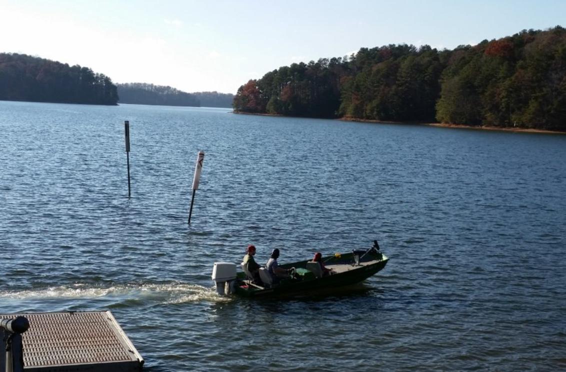 Lake Lanier boating
